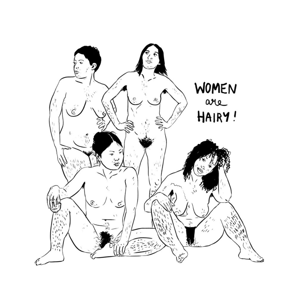 Women are Hairy!