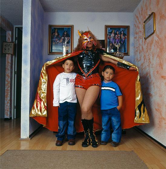 Lucha-libre-retratos-de-familia-Lourdes-Godet-2